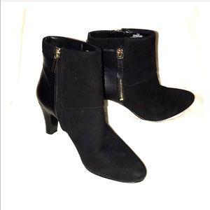 Bandolino Shoes - Black Bandolino woodford booties.
